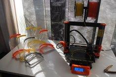 3D tisk ochranných štítů