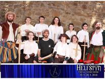 Historičtí šermíři na Helfštýně